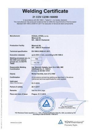 Certifikacia-kogalsteel-en1090-2a-en